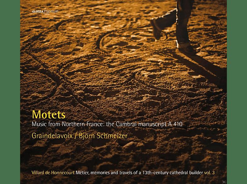 Graindelavoix - Motetten - Musik Aus Dem Nordfranzösischen Cambrai-Manuskript A 410 [CD]