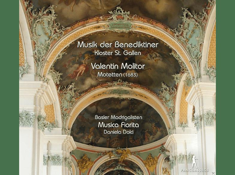 Daniela Dolci, Basler Madrigalisten, Musica Fiorita - Motetten - Musik Der Benediktiner, Kloster St.Gallen [CD]