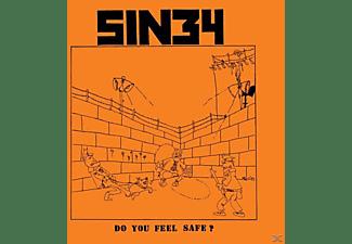 Sin 34 - Do You Feel Safe?  - (LP + Download)