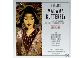 Chorus & Orchestra Of The New Orleans Opera House - Madama Butterfly  - (CD)