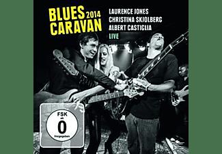 Laurence Jones, Christina Skjolberg, Albert Castiglia - Blues Caravan 2014  - (CD + DVD Video)