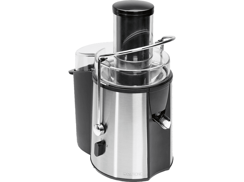 CLATRONIC AE 3532 Entsafter 1000 Watt Schwarz/Inox