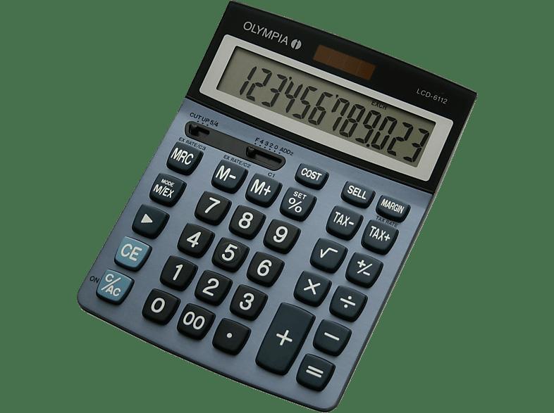 OLYMPIA LCD 6112 Tischrechner
