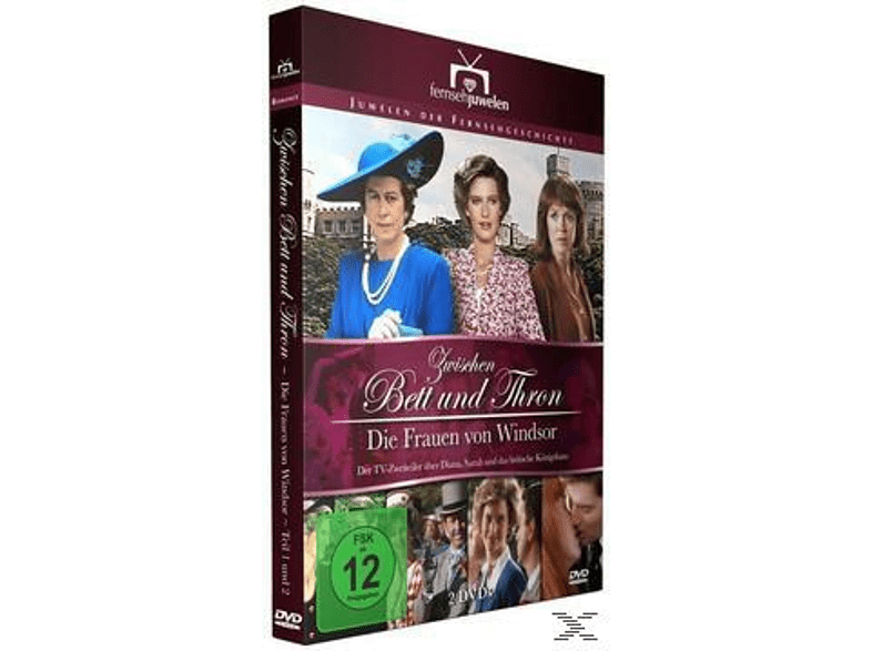 ZWISCHEN BETT UND THRON - DIE FRAUEN VON WINDSOR [DVD]