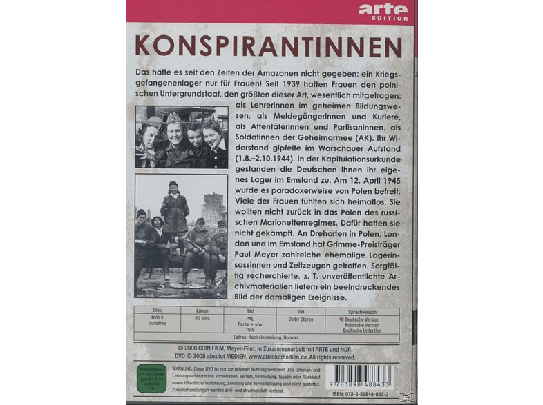 KONSPIRANTINNEN [DVD]