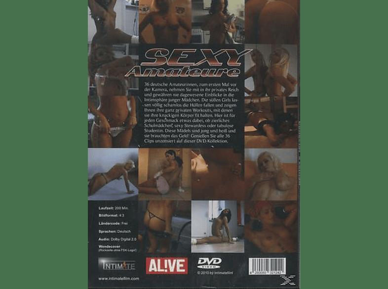 SEXY AMATEURE - 36 JUNGE GIRLS ZUM ERSTEN MAL VOR [DVD]