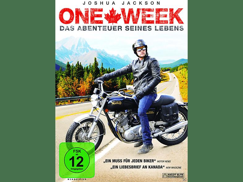 ONE WEEK - DAS ABENTEUER SEINES LEBENS [DVD]