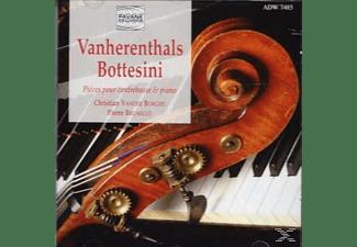 Christian Borght, Pierre Brunello - Werke Für Contrabass Und Klavier  - (CD)