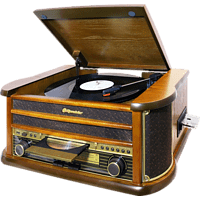 ROADSTAR HIF-1899TUMPK Kompaktanlage (CD, CD-R, CD-RW, Braun)