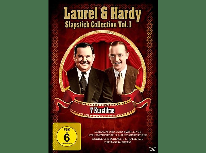 Laurel Und Hardy - Slapstick Collection Vol.1 [DVD]