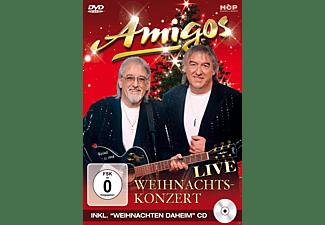 Die Amigos - Weihnachtskonzert Live  - (DVD + CD)