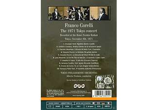 Franco Corelli, Tokyo Philharmonic Orchestra - Das Konzert In Tokyo 1971  - (DVD)