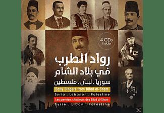Les Premiers Chanteurs Des Bilad Al - Early Singers From Bilad Al-Sham  - (CD)