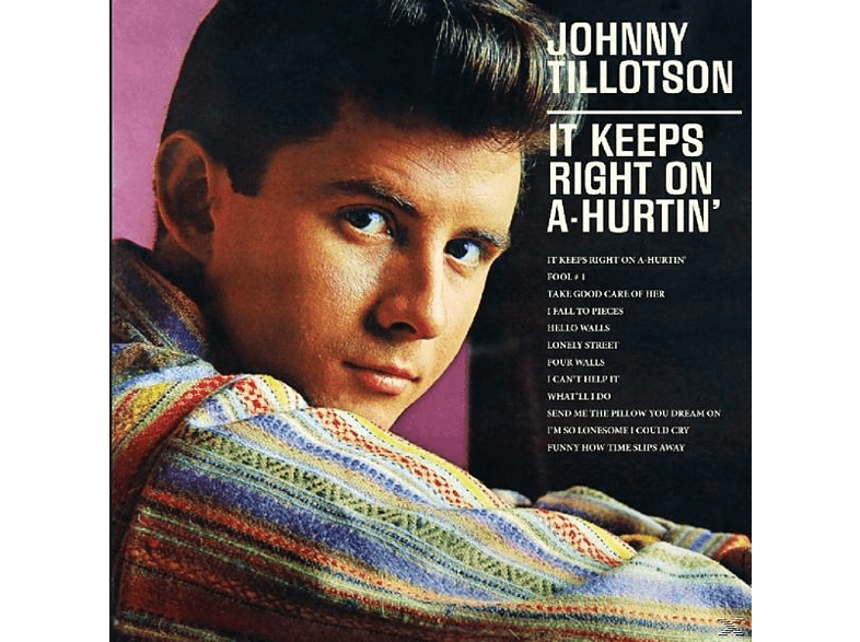 Johnny Tillotson - It Keeps Right On A-Hurt [CD]