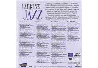 VARIOUS - Larkin's Jazz  - (CD)