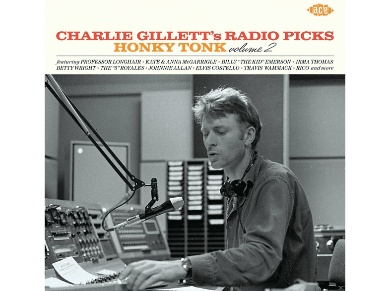 VARIOUS - Charlie Gillett's Radio Picks-Honky Tonk Vol.2 [CD]