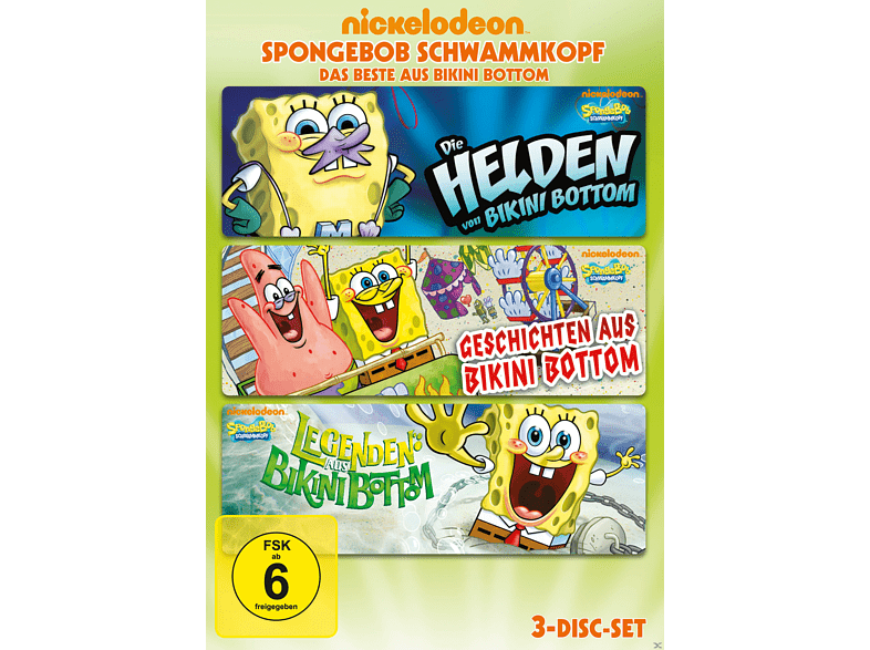 SpongeBob Schwammkopf – Das Beste aus Bikini Bottom [DVD]