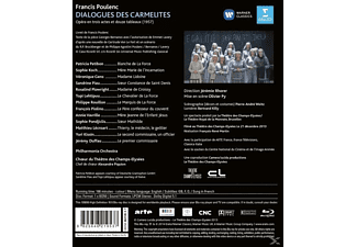 GENS,VéRONIQUE/PETIBON,P./KOCH,S./RHORER,J. - Poul:Dialogues Des Carmélites  - (Blu-ray)