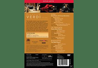 VARIOUS - Aida / La Traviata / Rigoletto  - (DVD)