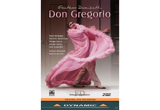 """VARIOUS, Orchestra of the Bergamo Musica Festival """"Gaetano Donizetti"""" - Don Gregorio  - (DVD)"""
