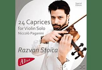 Razvan Stoica - 24 Caprices For Violin Solo  - (CD)