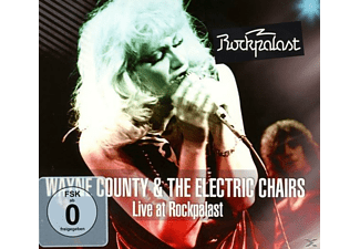 Wayne County, Electric Chairs - Live At Rockpalast (1978)  - (CD + DVD Video)