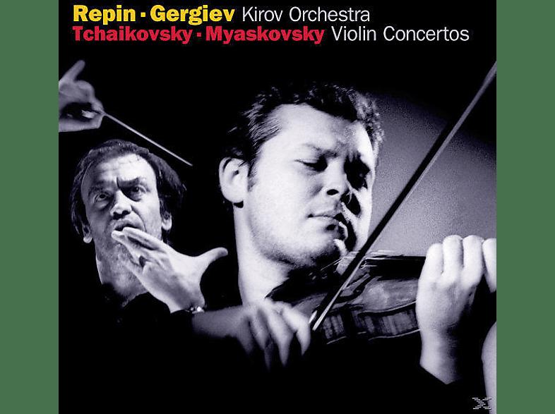Vadim Repin, Repin,Vadim/Gergiev,Valery/KIRO - Violinkonzert D-Dur/D-Moll [CD]