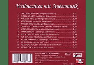 VARIOUS - Weihnachten Mit Stubenmusik 1  - (CD)