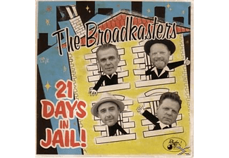The Broadkasters - 21 Days In Jail  - (CD)