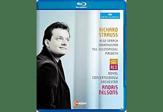 Andris/rco Nelsons - Also Sprach Zarathustra/Macbeth  - (Blu-ray)