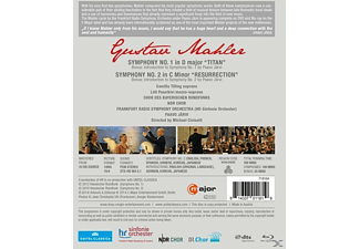 Paavo Järvi - Sinfonien 1 & 2  - (Blu-ray)