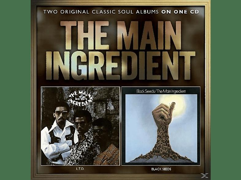 The Main Ingredient - L.T.D./Black Seeds [CD]