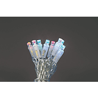HELLUM 560473 LED Lichterkette,  Transparent,  Mehrfarbig