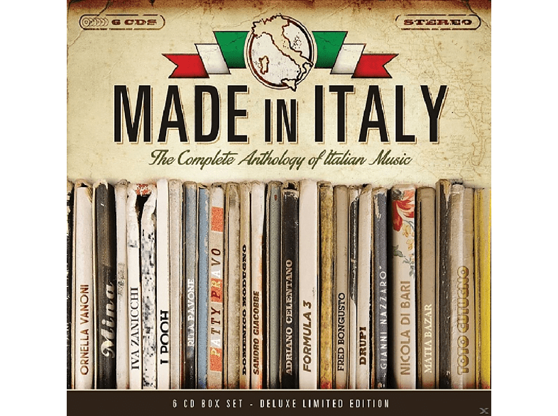 VARIOUS - Made In Italy [CD]