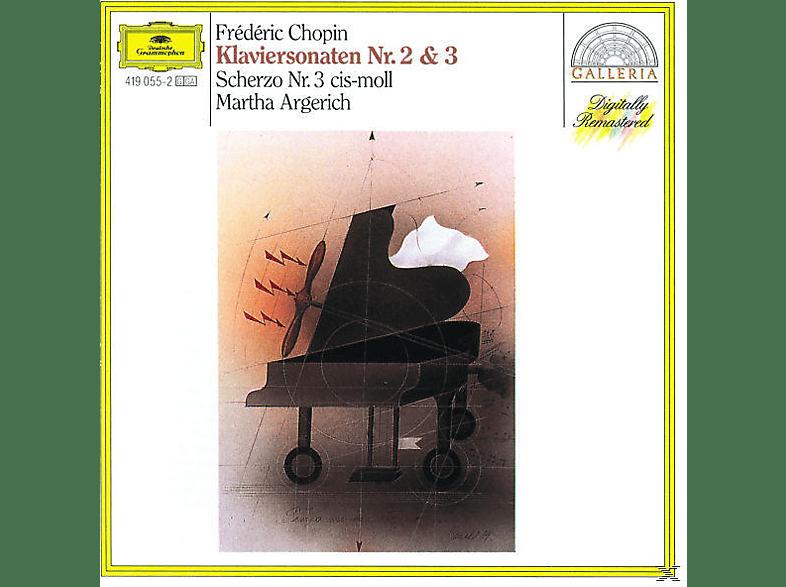 VARIOUS, Martha Argerich - Klaviersonaten 2+3/Scherzo 3 [CD]