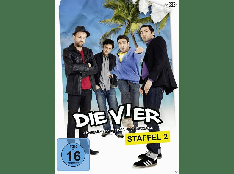 Die Vier - Staffel 2 [DVD]