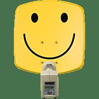 TECHNISAT 1533/2882 DigiDish 33 Twin Smiley Satellitenschüssel (33 cm, Twin-LNB)