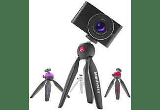 Manfrotto Pixi Mini trípode con Empuñadura para cámaras de sistema compacto negro