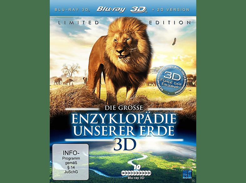 Die grosse Enzyklopädie unserer Erde [3D Blu-ray]