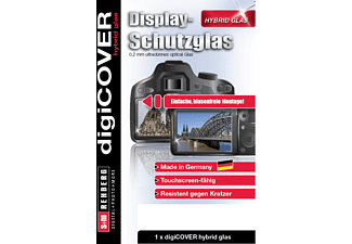 S+M digiCOVER Hybrid Glas Canon Powershot G1X Mark II Displayschutzglas, Canon Powershot G1X Mark II, Transparent