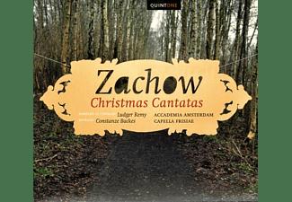 Ludger Remy, Capella Frisiae, Accademia Amsterdam, Constanze Backes - Weihnachtskantaten  - (CD)