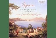 Amati Ensemble String Quartet - Paganini: Streichquartette 1-3 [CD]