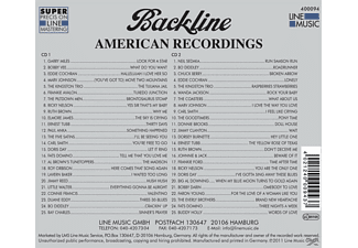 VARIOUS - Backline Vol.94  - (CD)