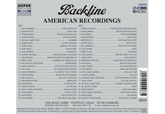 VARIOUS - Backline Vol.96  - (CD)