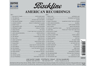 VARIOUS - Backline Vol.99  - (CD)