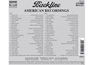 VARIOUS - Backline Vol.102  - (CD)