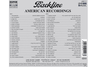 VARIOUS - Backline Vol.111  - (CD)