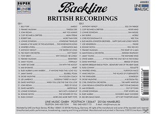 VARIOUS - Backline Vol.83  - (CD)