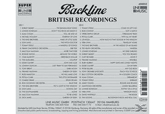 VARIOUS - Backline Vol.52  - (CD)