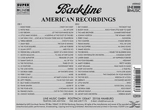 VARIOUS - Backline Vol.62  - (CD)